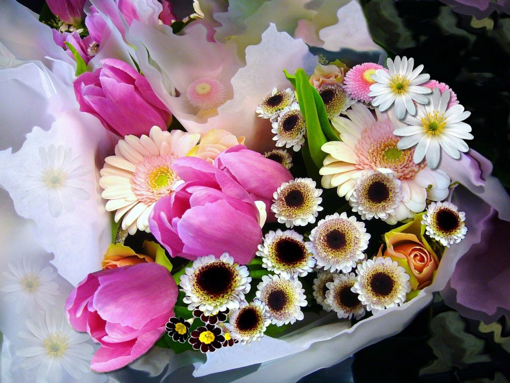 Blomleverans i Stockholm innebär kärlek